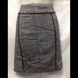 Women's size 2 MERONA wool-blend lined skirt